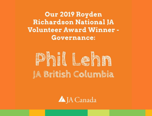 JA Canada Announces Recipients of National JA Volunteer Awards