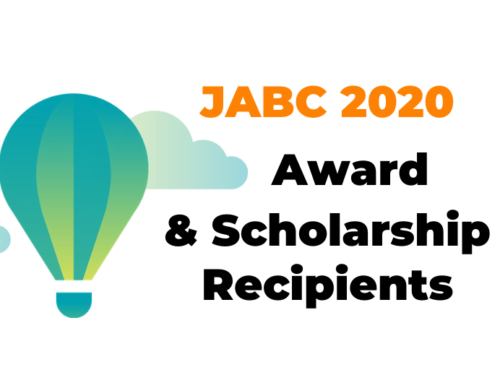 JABC is pleased to announce our 2020 Awards and Scholarships
