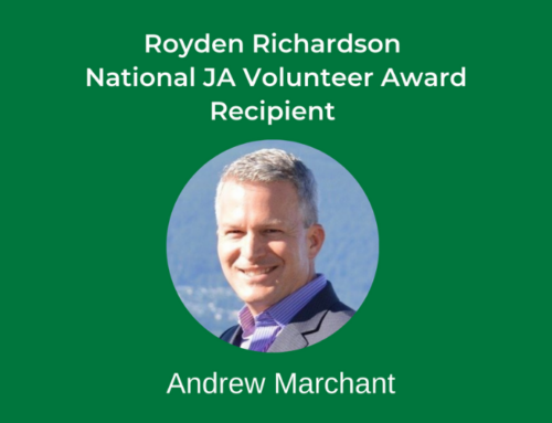 Congratulations to Andrew Marchant